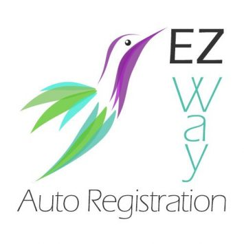 EZ Way square logo with hummingbird icon