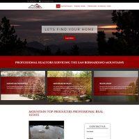 Screenshot of Top Producers homepage