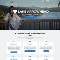 Screenshot taken from ILoveLakeArrowhead.com